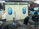 A professional refinished collision repair requires a professional spray booth like what we have here at Car Kraft Auto Body in Englewood, NJ, 07631.