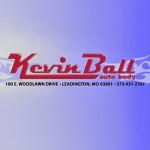 Kevin Ball Auto Body Leadington MO 63601 Logo. Kevin Ball Auto Body Auto body and paint. Leadington MO collision repair, body shop.