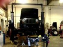 Professional vehicle lifting equipment at Ozzie's Body Shop, located at Loveland, CO, 80538, allows our damage estimators a clear view of all collision related damages.