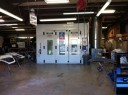A neat and clean and professional refinishing department is located at Advanced Collision Inc., Chattanooga, TN, 37421