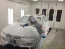 A professional refinished collision repair requires a professional spray booth like what we have here at Bopp Collision Center, LLC in Columbia, MO, 65202.