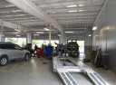 Accurate alignments are the conclusion to a safe and high quality repair done at Baker Nissan North, Houston, TX, 77065