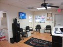 The waiting area at our body shop, located at Boca Raton, FL, 33431 is a comfortable and inviting place for our guests.