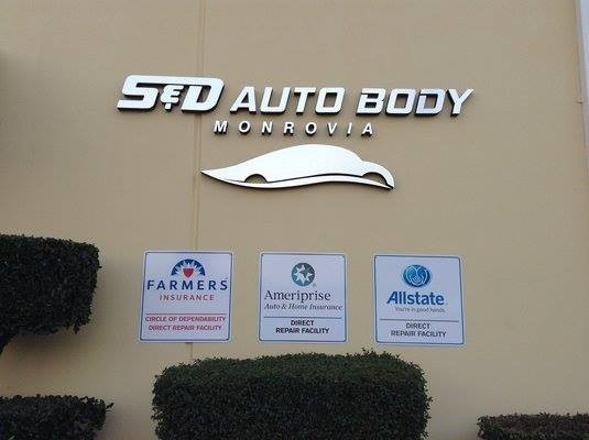 S and D Auto Body