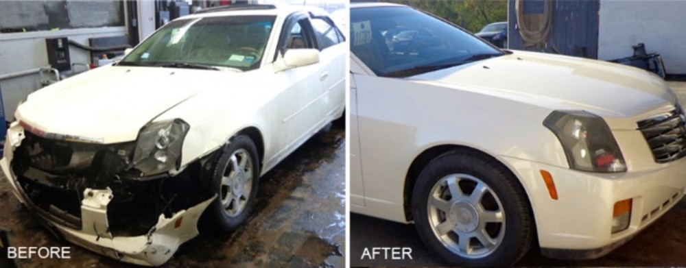 At Delta Collision Inc., we are proud to post before and after collision repair photos for our guests to view.