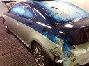 A professional refinished collision repair requires a professional spray booth like what we have here at Autocare Collision Center in Allentown, PA, 18109.