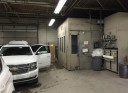A neat and clean and professional refinishing department is located at Butler's Collision, Inc., Roseville, MI, 48066