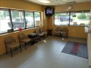 The waiting area at our body shop, located at Matawan, NJ, 07747 is a comfortable and inviting place for our guests.