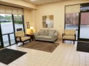 The waiting area at our body shop, located at Raleigh, NC, 27617 is a comfortable and inviting place for our guests.