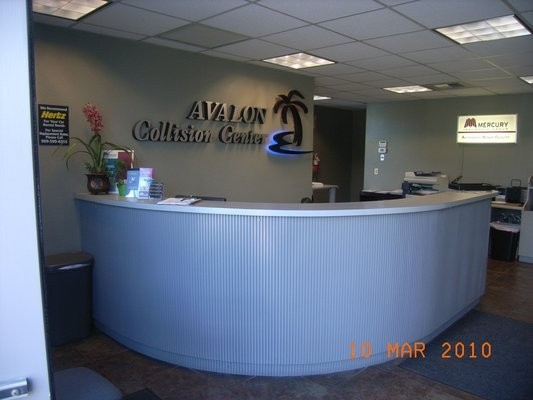 Avalon Collision Center - Glendora 1947 Auto Center Drive Glendora, CA 91740  Highly Skilled Office Staff to Service all of Your Collision Repair Needs
