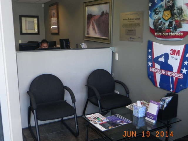 Avalon Collision Center -  1947 Auto Center Drive Glendora, CA 91740   A Full Service Office Staff Are Always Available to Serve you.