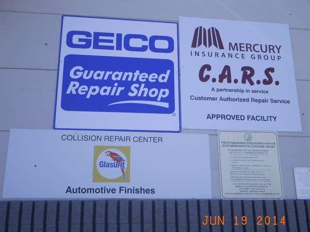 Avalon Collision Center -  1947 Auto Center Drive Glendora, CA 91740   Servicing Many Large Insurance Carriers.