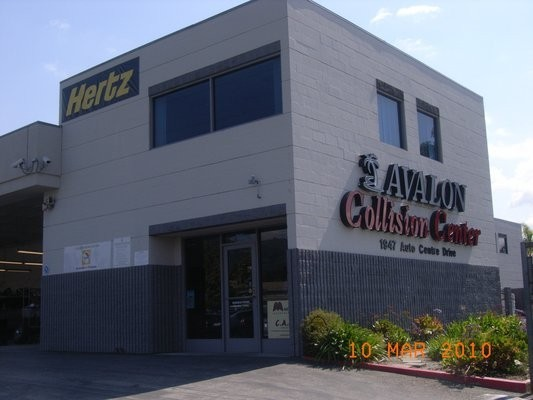 Avalon Collision Center - Glendora 1947 Auto Center Drive Glendora, CA 91740  Large Collision Facility Centrally Located for Guest Convenience