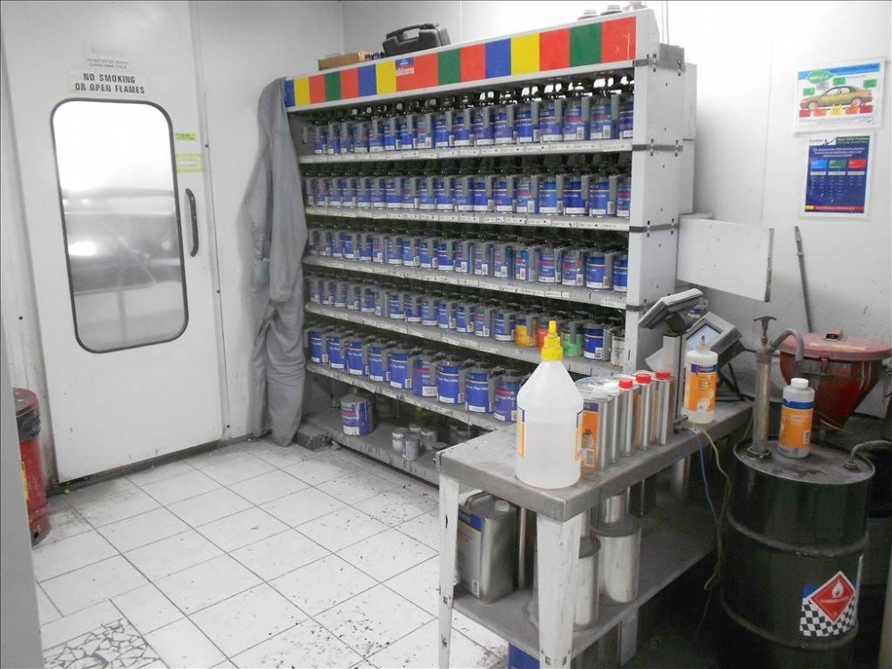 Our Collision Structural Repair Equipment A Professional Mixing Room Is  Critical For Matching The Colors Of Todayu0027s Vehicles.