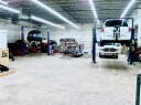 Professional vehicle lifting equipment at C&D Auto Body, located at College Park, MD, 20740, allows our damage estimators a clear view of all collision related damages.