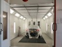 Gabes Collision East - A clean and neat refinishing preparation area allows for a professional job to be done at Gabe's Collision Service, Buffalo, NY, 14225.