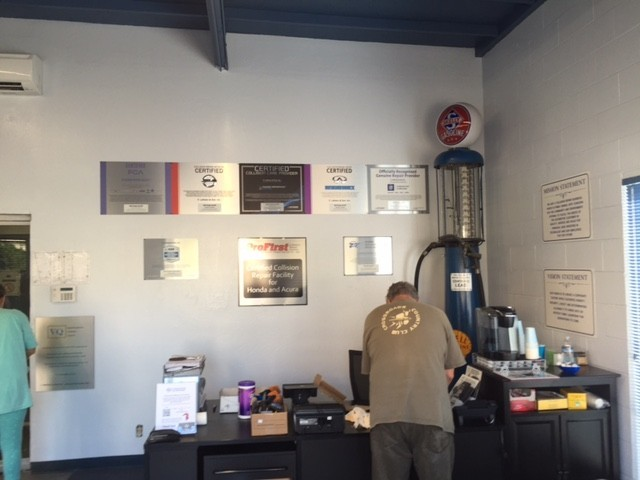 At F. Lofrano & Son, Inc - Belvedere Street, in San Rafael, CA, we proudly post our earned certificates and awards.