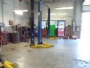 Imperial Auto Body of Rockville - Professional vehicle lifting equipment at Imperial Auto Body Of Rockville, located at Rockville, MD, 20850, allows our damage technicians a clear view of what might be causing the problem.