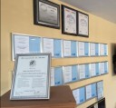 At Proline Auto Body, in San Mateo, CA, we proudly post our earned certificates and awards.