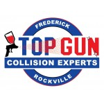 Top Gun Collision Experts Rockville MD 20850 Logo. Top Gun Collision Experts Auto body and paint. Rockville MD collision repair, body shop.