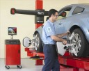 Accurate alignments are the conclusion to a safe and high quality repair done at Paceline Collision Center - Killeen , Killeen, TX,
