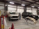 A professional refinished collision repair requires a professional spray booth like what we have here at Paceline Collision Center - Lubbock Loop in Lubbock, TX, 79406.