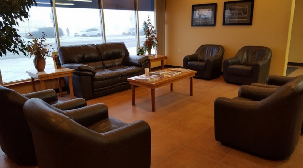 Here at Chaz Limited Collision Express Downtown, Anchorage, AK, 99501, we have a welcoming waiting room.