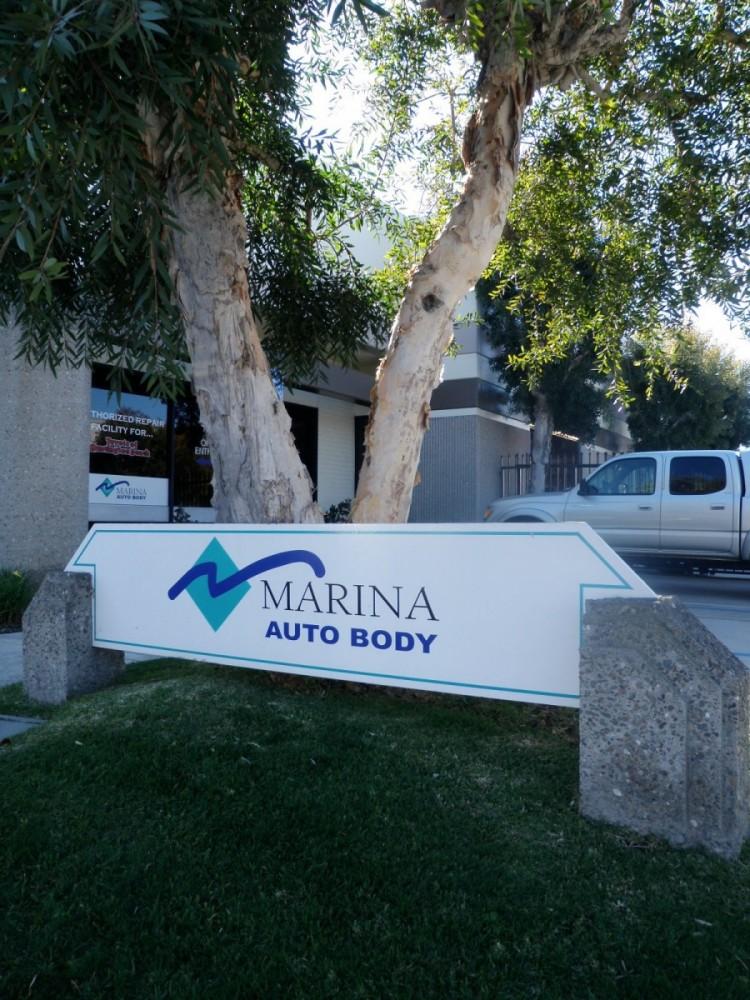 Marina Auto Body - Huntington Beach 17911 Georgetown Ln  Huntington Beach, CA 92647 Auto Body Shop.  Auto Collision Repair Facility.