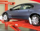 Accurate alignments are the conclusion to a safe and high quality repair done at Mitchells' Crash Repair, Great Falls, MT, 59401