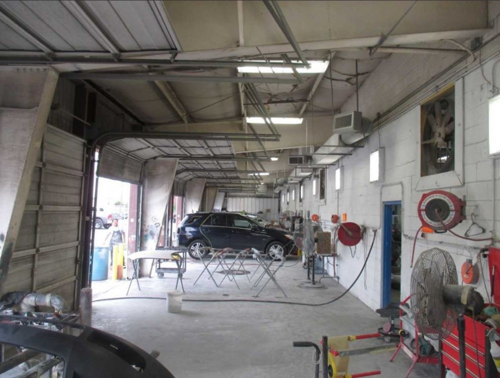 A professional refinished collision repair requires a professional spray booth like what we have here at River Oaks Chrysler Jeep Collision in Houston, TX, 77098.