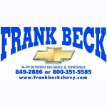 Here at Frank Beck Chevrolet Body Shop, Hillsdale, MI, 49242, we are always happy to help you with all your collision repair needs!