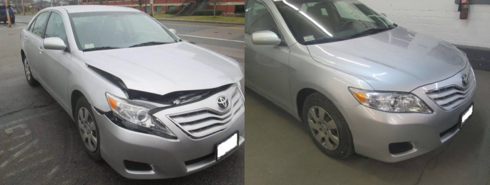 Gaumond's Auto Body - At Gaumond's Auto Body, we deal with repairs ranging from collision damage to dent repair. We get them corrected, and have cars looking like new when they leave our shop!