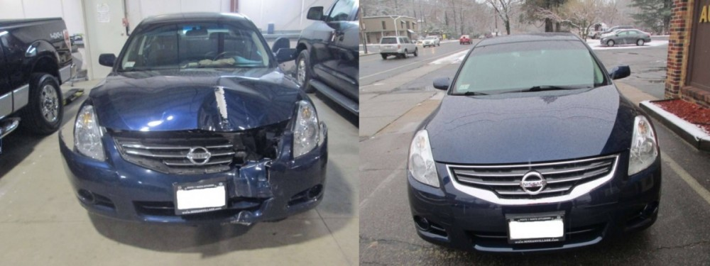 Gaumond's Auto Body - At Gaumond's Auto Body, we are proud to post before and after collision repair photos for our guests to view.