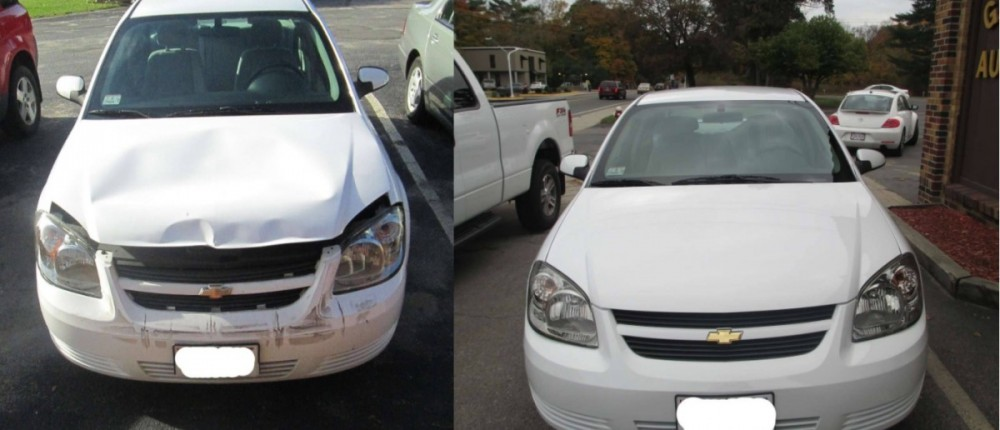 Gaumond's Auto Body - Our shop at Gaumond's Auto Body, we have photos for our customers to see our before and after repair to enjoy.