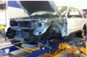 Structural repairs done at Liberty Ford Solon, Inc. are exact and perfect, resulting in a safe and high quality collision repair.