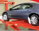 Accurate alignments are the conclusion to a safe and high quality repair done at Liberty Ford Solon, Inc., Solon, OH, 44139