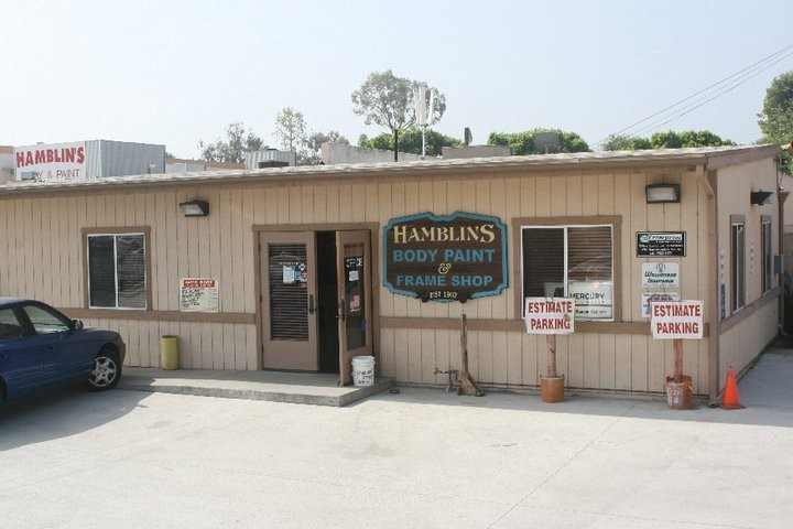 Hamblin's Body Paint & Frame 7590 Cypress Ave  Riverside, CA 92503  EASY ACCESS TO OUR MAIN OFFICE....