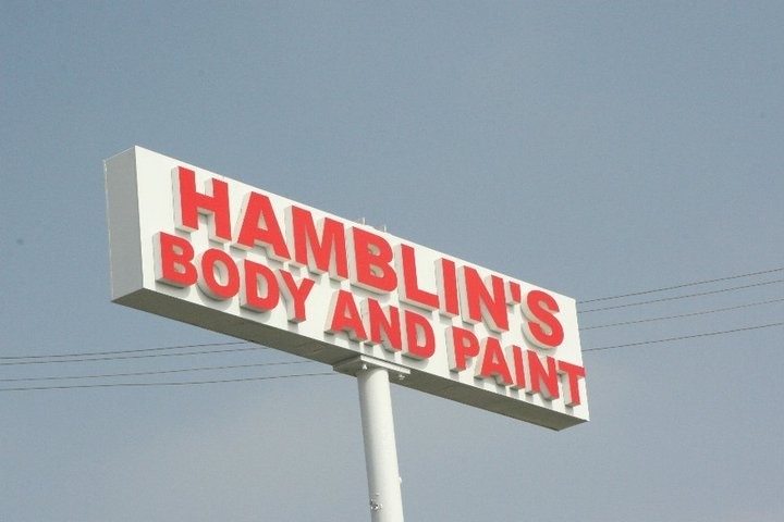 Hamblin's Body Paint & Frame 7590 Cypress Ave  Riverside, CA 92503