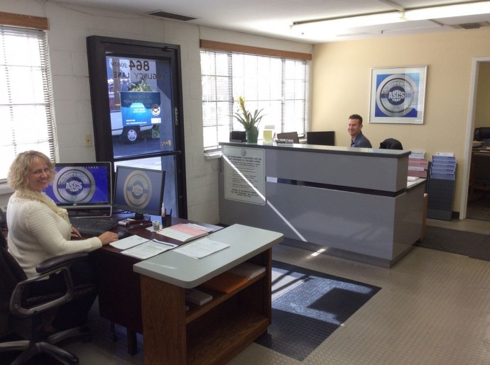 Our body shop's business office located at Campbell, CA, 95008 is staffed with friendly and experienced personnel.