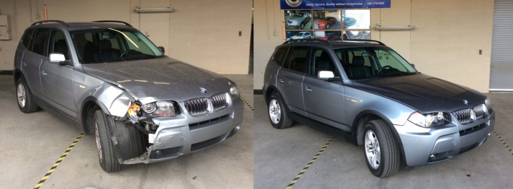 At A Superior Collision Shop, we are proud to post before and after collision repair photos for our guests to view.