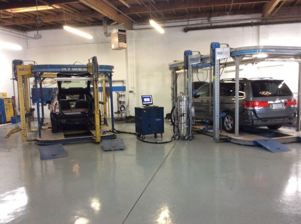 Collision structure and frame repairs are critical for a safe and high quality repair. Here at A Superior Collision Shop, our structure and frame technicians are I-CAR certified and have many years of experience.