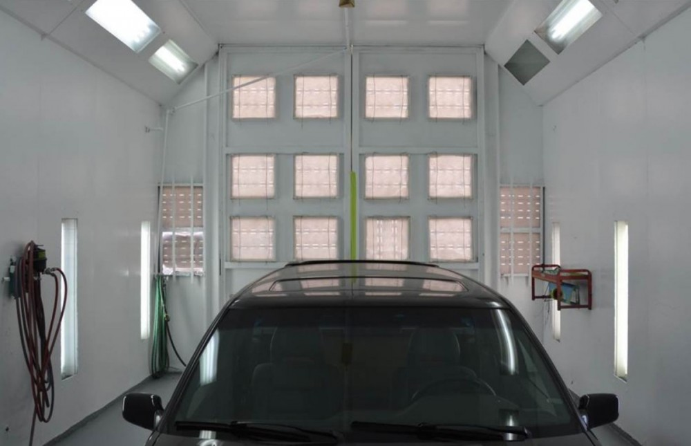 Chilton Auto Body San Mateo - A professional refinished collision repair requires a professional spray booth like what we have here at Chilton Auto Body - San Mateo in San Mateo, CA, 94401.