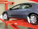 Accurate alignments are the conclusion to a safe and high quality repair done at Helfman Ford, Stafford, TX, 77477