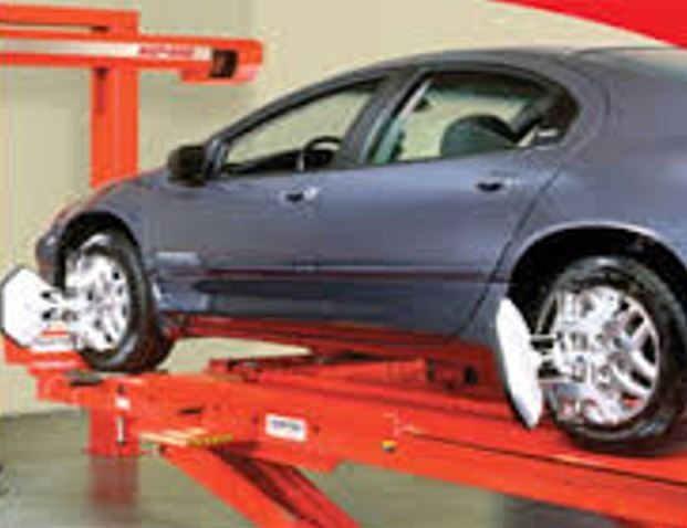 Accurate alignments are the conclusion to a safe and high quality repair done at Southwest Auto Group Collision , Weatherford, TX, 76087-8772