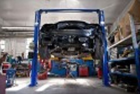 Professional vehicle lifting equipment at Southwest Auto Group Collision , located at Weatherford, TX, 76087-8772, allows our damage technicians a clear view of what might be causing the problem.
