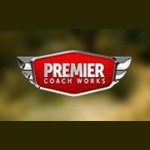 Premier Coach Works Auto & RV Body Shop El Mirage AZ 85335 Logo. Premier Coach Works Auto & RV Body Shop Auto body and paint. El Mirage AZ collision repair, body shop.