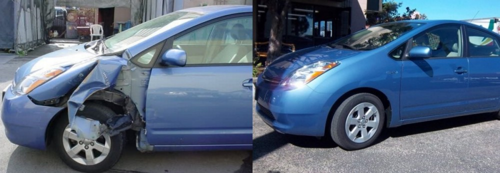 We are proud to show examples of our repairs, here at Fanucci Auto Body Inc..