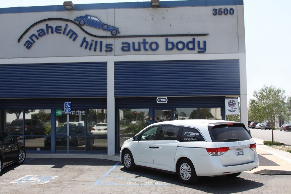 At Anaheim Hills Auto Body, every completed vehicle is personally delivered back to the guest with a complete explanation of the repairs.  Questions are welcomed and addressed to make sure our guest is completely satisfied.