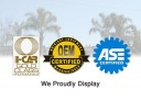 At Fix Auto Burbank, in Burbank, CA, we proudly post our earned certificates and awards.