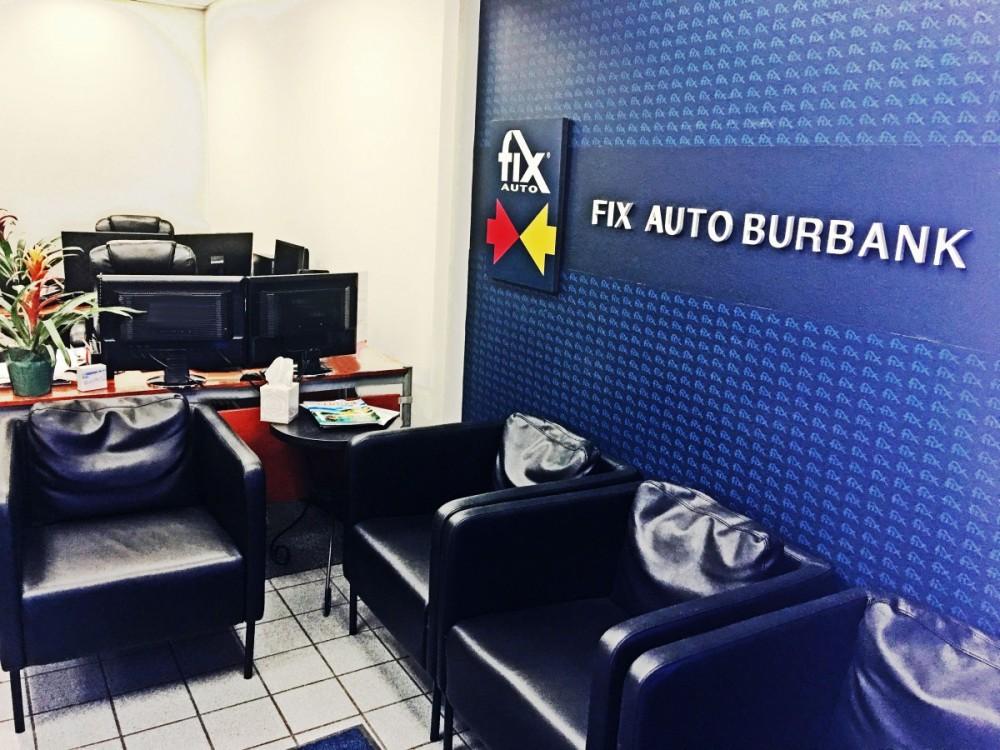Waiting Area at Fix Auto Burbank auto body shop - 120 E Verdugo Ave in Burbank, CA